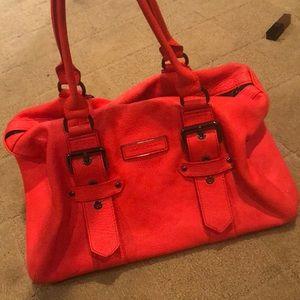 Special edition Longchamp neon handbag!